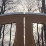 swing gate installation